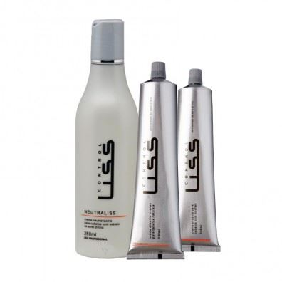 Control Liss - Kit Forte - Creme Alisante Intenso